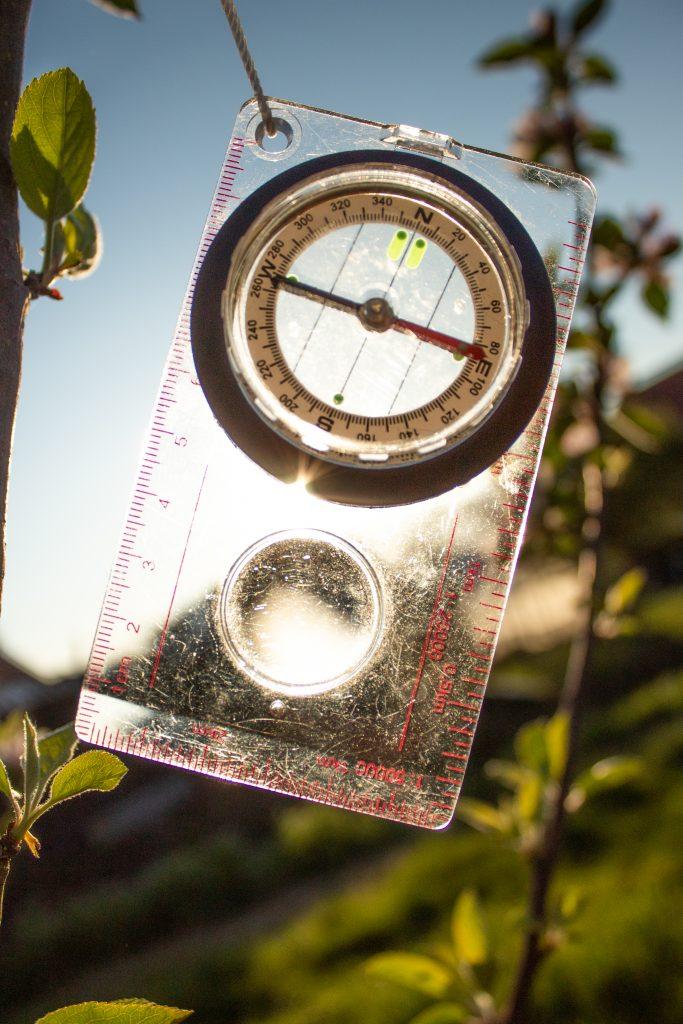 Kompas navigatie kinderfeestje